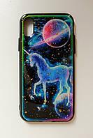 Чехол Fiji для Apple Iphone XS бампер с принтом Fairy Tale Unicorn