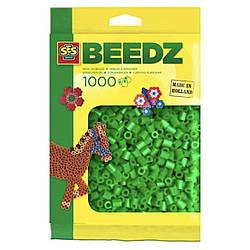Бусины для термомозаики (зелёный цвет) SES Creative