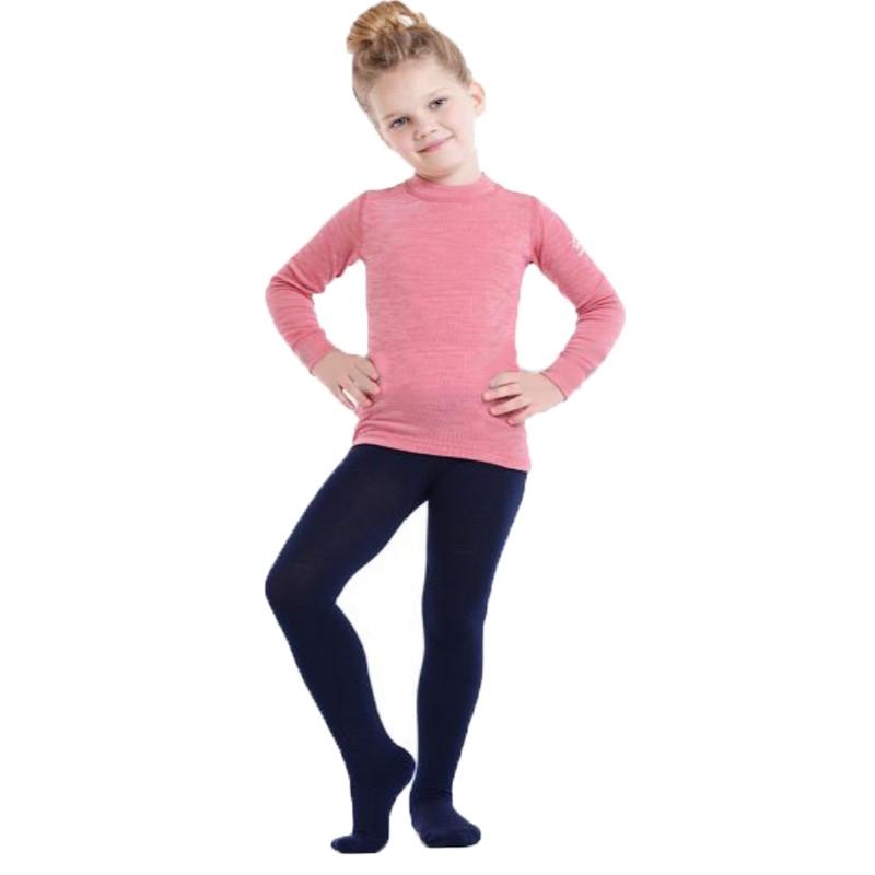 Термоколготки детские NORVEG Merino Wool (размер 74-80, синий)