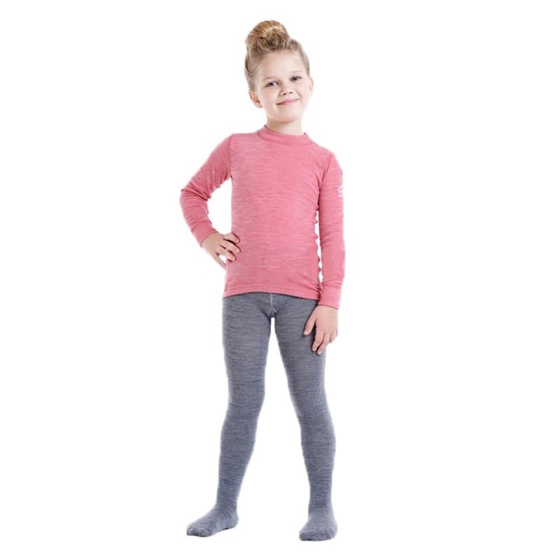 Термоколготки детские NORVEG Merino Wool (размер 74-80, серый)