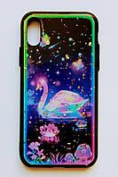 Чехол Fiji для Apple Iphone XS бампер с принтом Fairy Tale Dream