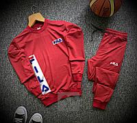 Спортивный костюм мужской Fila xх red осенний весенний', фото 1