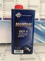 Тормозная жидкость FUCHS MAINTAIN DOT 4 (1 л.) универсальная