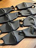 Комплект 10 шт. Многоразовая маска защитная D9424 черная, фото 8
