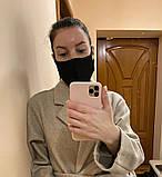 Комплект 10 шт. Многоразовая маска защитная D9424 черная, фото 7