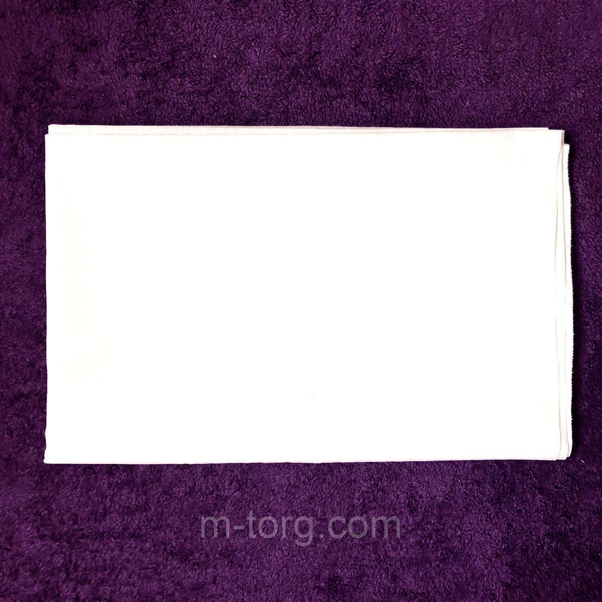 Простынь белая 150*200 см,хлопок 100% ситец Украина