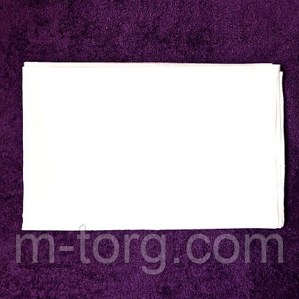 Простынь белая 150*200 см,хлопок 100% ситец Украина, фото 2