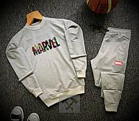 Спортивный костюм мужской Marvel  xх grey осенний весенний, фото 1
