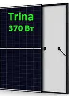 Солнечная панель 370Вт 24Вольт TSМ-DE08M.08(II) 370М 9ВB Нalf Сell Trina Solar монокристалл, фото 1