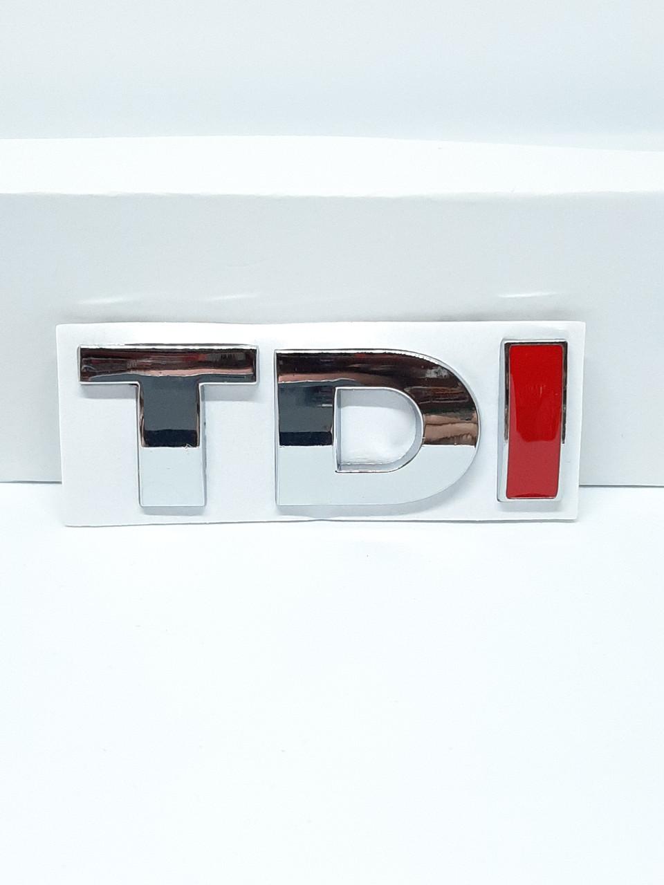 Эмблема логотип надпись TDI