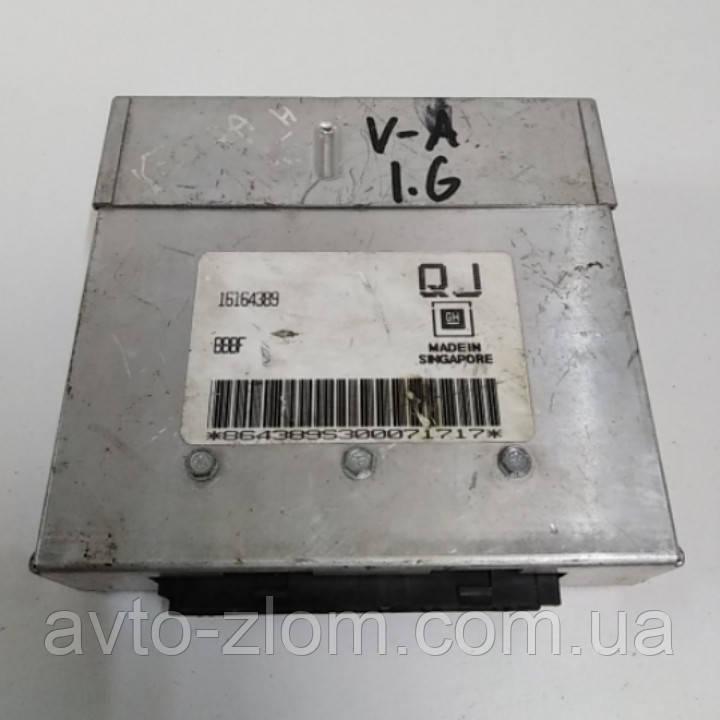 Блок управления двигателем Opel Vectra A, Опель Вектра А 1,6 C16NZ. 16164389.