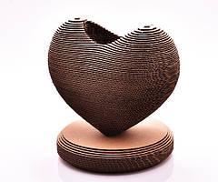 """Скульптурный 3D пазл из картона """"A Heart Of Love"""" PZ29"""