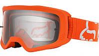 Очки кроссовые FOX MAIN II Race Fluor Orange