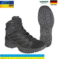 Ботинки тактические ЛОВА Черные - LOWA Innox GTX Mid TF - Black