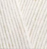 Пряжа для вязания Лана голд 62 св молочный
