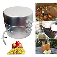 Соковарка 8 литров «Калитва» (пищевой алюминий)