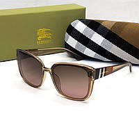 Женские брендовые солнцезащитные очки Burberry (3089) rose, фото 1
