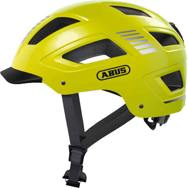 Велошлем ABUS HYBAN 2.0 Signal Yellow M (52-58 см)