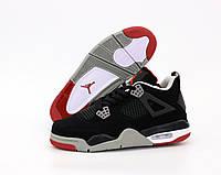 Баскетбольные кроссовки Nike Air Jordan 4 black