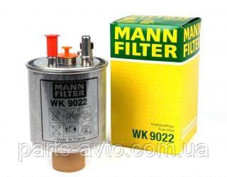 Фільтр топлиный Renault Kangoo 2, MANN WK9022. 164001137R, 164005033R