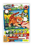 Картина по номерам для детей 7+ Котенок