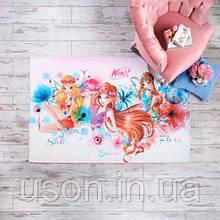 Коврик TAC Disney Winx Watercolour 120х180см