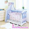 Постельное белье в детскую кроватку Twins Comfort Пушистые мишки