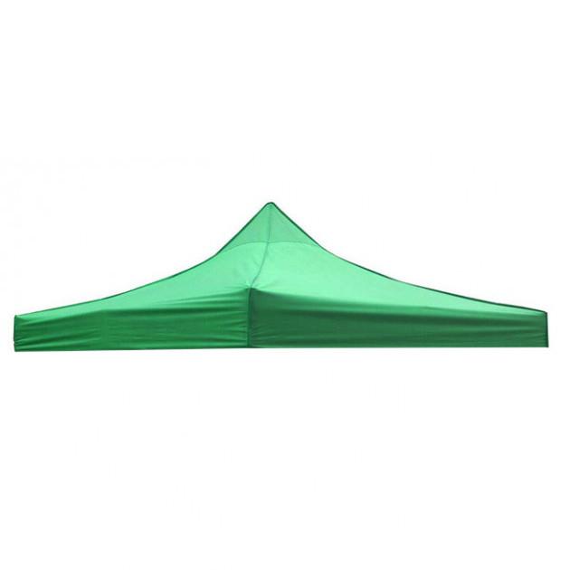 Крыша тент на раздвижной шатер 2х2 Зеленый прорезиненый купол