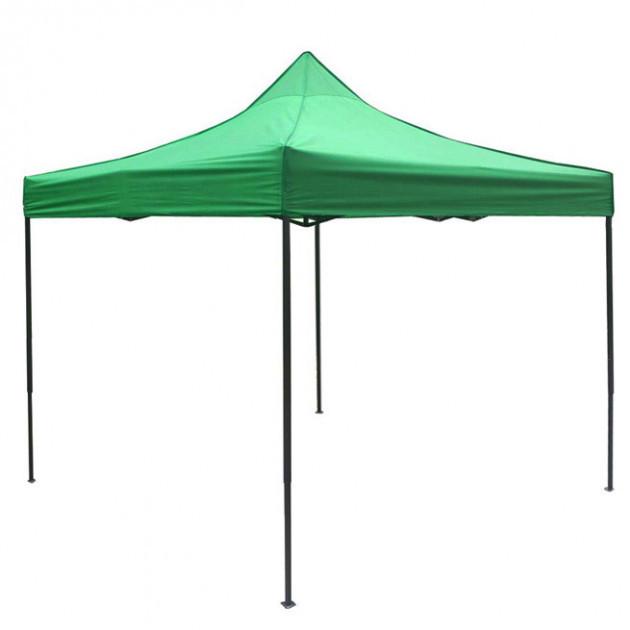 Шатер раздвижной 3 м х 3 м зеленый