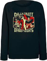 Женский свитшот Billy Talent - Afraid Of Heights (чёрный)