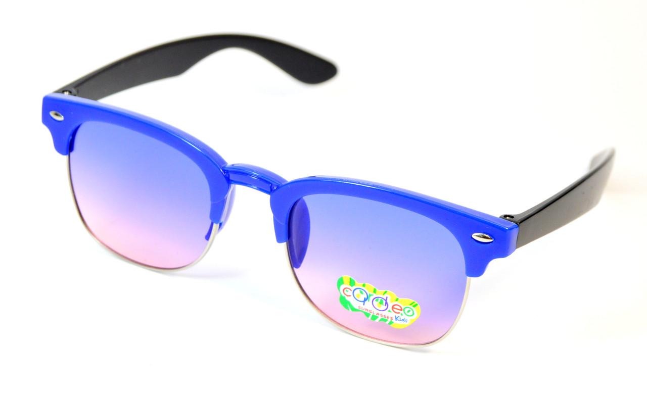 Детские солнцезащитные очки Clubmaster (0435 син)