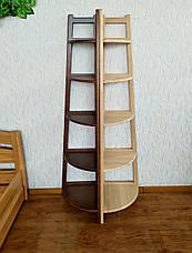 """Детская этажерка стеллаж из натурального дерева """"Робин Люкс"""" от производителя, фото 3"""