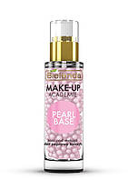 Bielenda Make-Up Academie Pearl Base База под макияж, розовая эффект улучшения цвета лица