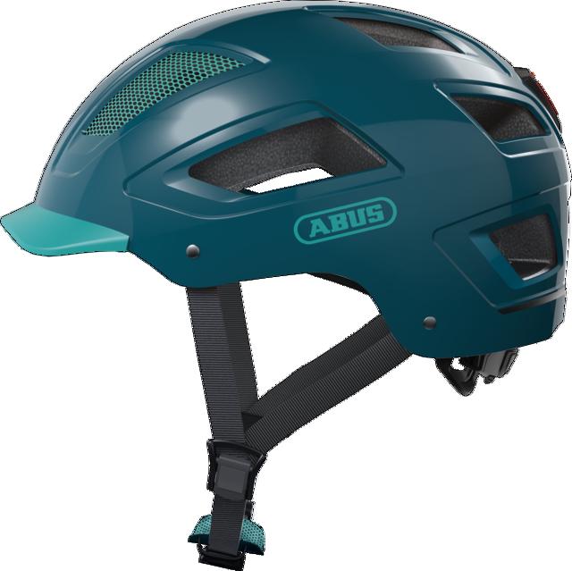 Велошлем ABUS HYBAN 2.0 Core Green XL (58-63 см)