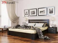 """Кровать ТМ Эстелла """"Селена"""" (щит) с подъемным механизмом и коробом для белья."""