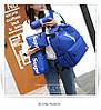 Рюкзак Supreme синий сумочкой и пеналом в комплекте, фото 2