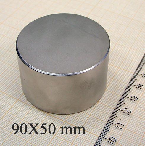 Постійний супермагніт неодимовий 90*50*400кг: є підбір і повернення