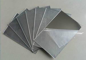 Полістирол HIPS 1 мм, дзеркальне срібло, лист 1000х2000 мм, фото 2