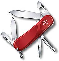 Армейский карманный складной нож Victorinox Evolution S111, 24603.SE красный
