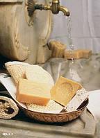 Арт. 1162 Мыло для пенного массажа в кусках, натуральное, оливковое с лавром, 200г