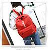 Рюкзак Supreme красный сумочкой и пеналом в комплекте, фото 3