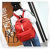 Рюкзак Supreme красный сумочкой и пеналом в комплекте, фото 5