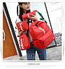 Рюкзак Supreme красный сумочкой и пеналом в комплекте, фото 4