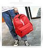 Рюкзак Supreme красный сумочкой и пеналом в комплекте, фото 7