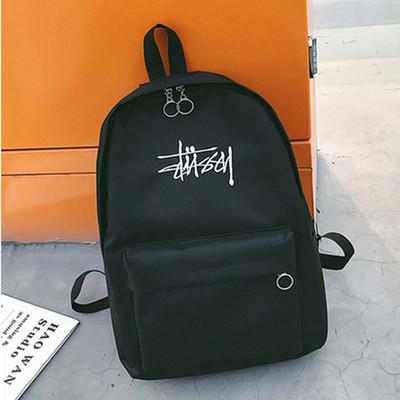Рюкзак черный  Stussy