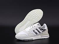 """Кроссовки мужские Adidas ZX 500  """"Белые с вставками змея"""" адидас размер 41-45, фото 1"""