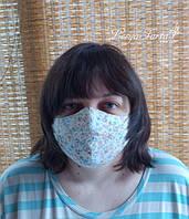 Многоразовая маска защитная против вирусов и инфекций, со сменным вкладышем