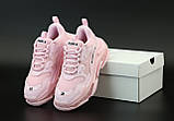 Женские кроссовки Balenciaga Triple S, кроссовки баленсиага трипл с, кросівки Balenciaga Triple S, баленсияга, фото 4