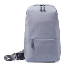 Рюкзак Xiaomi Mi Chest Pack Light Gray (ZJB4032CN)