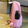 Рюкзак женский розовый с розовой пантерой, фото 3
